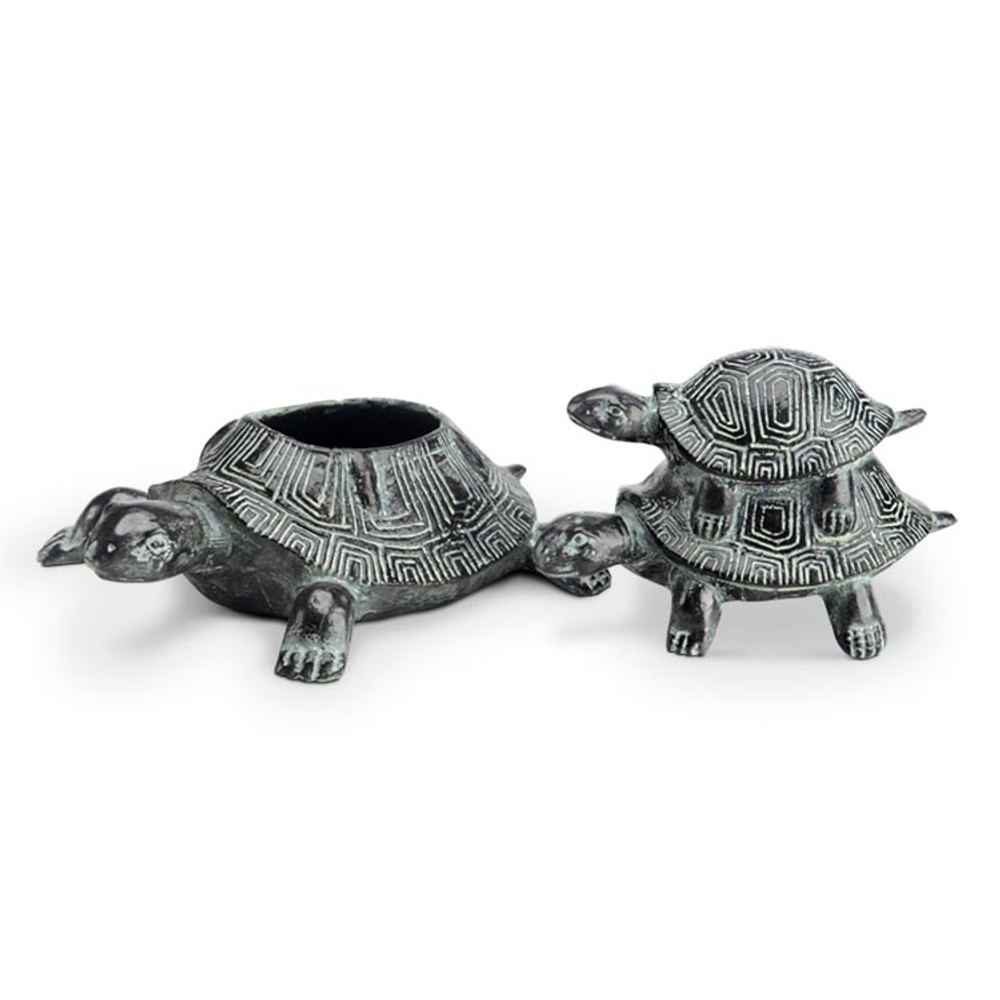 Turtle Trio Jewelry Box | SPI Home | 34634 -2