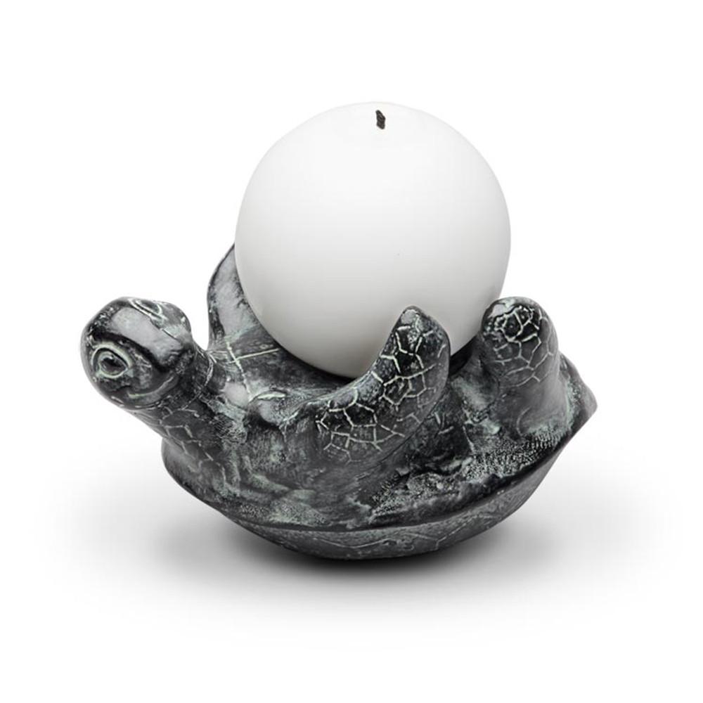 Turtle Candle Holder   SPI Home   34658