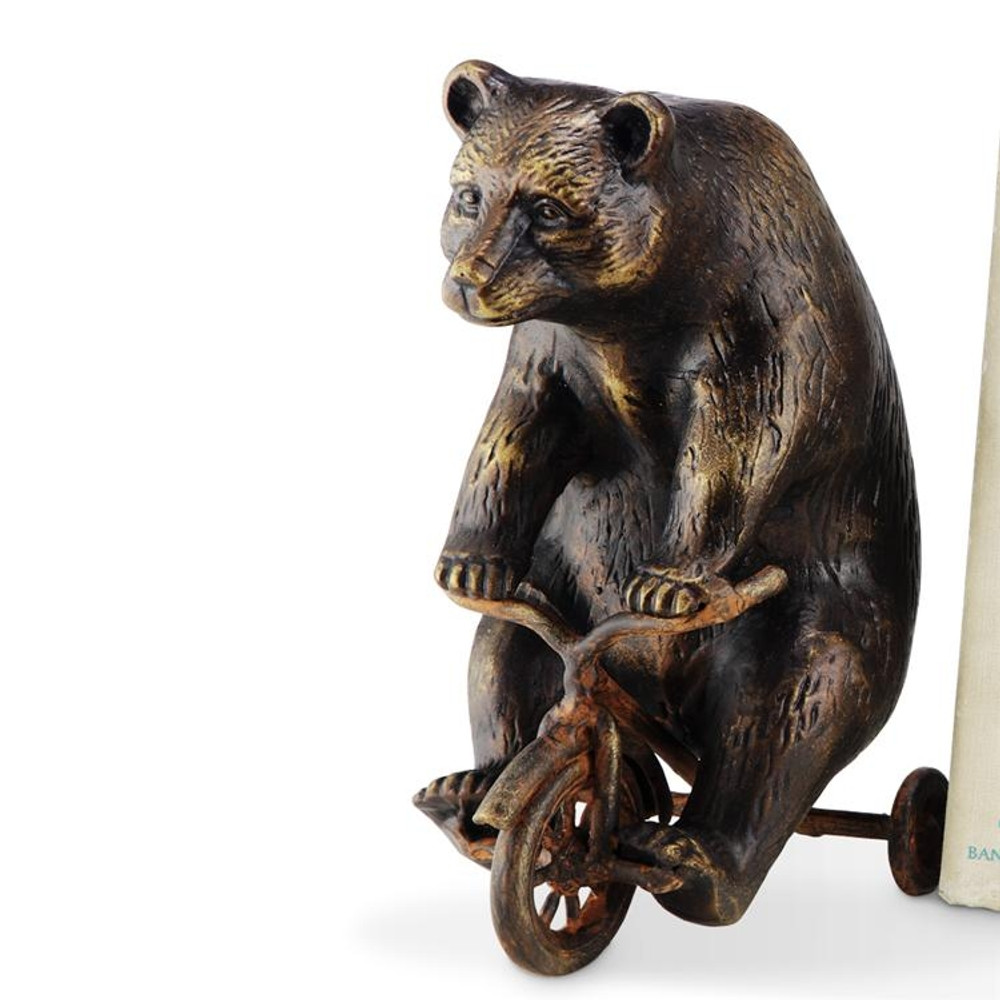 Bear on Trike Sculpture | Paperweight | SPI Home | 33639
