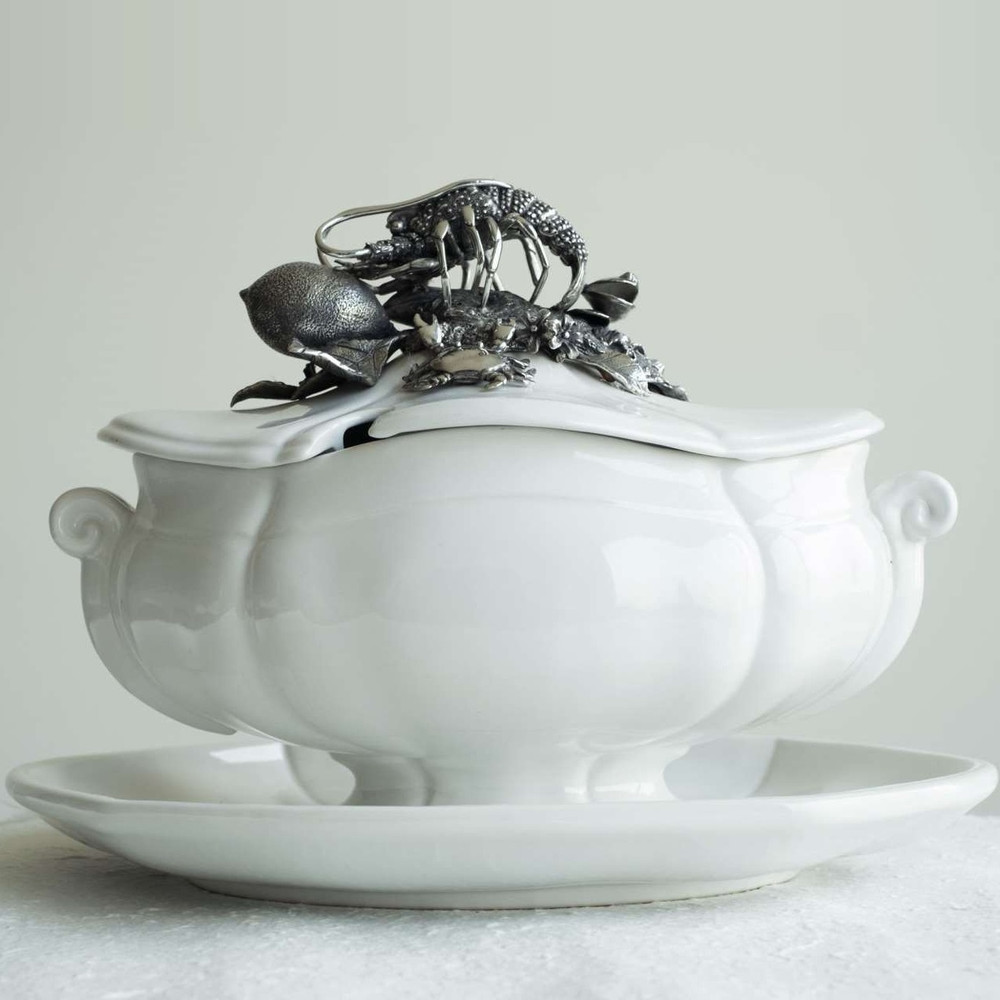 Lobster Soup Tureen | Vagabond House | O321LB