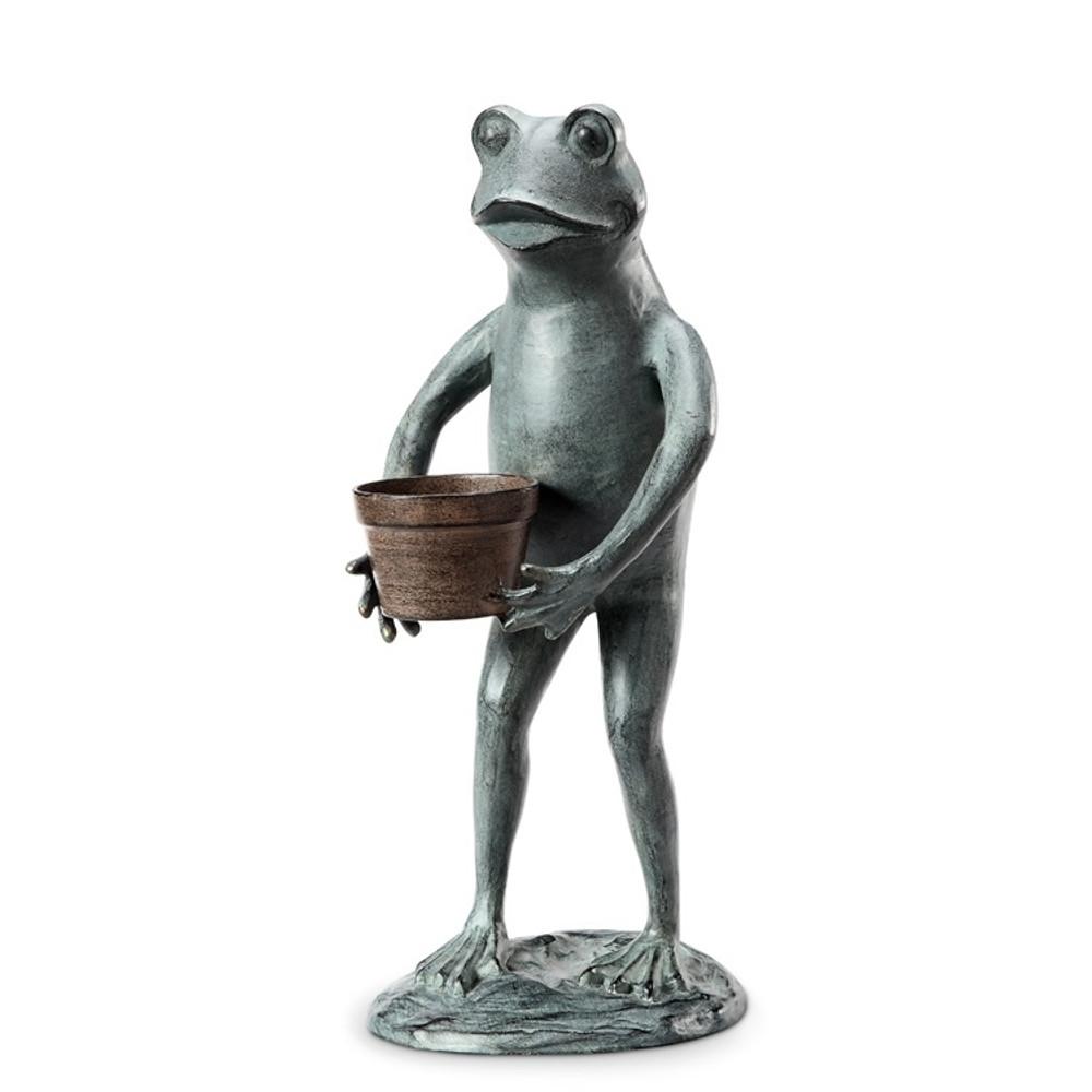 Frog Garden Planter Sculpture | 34261 | SPI Home