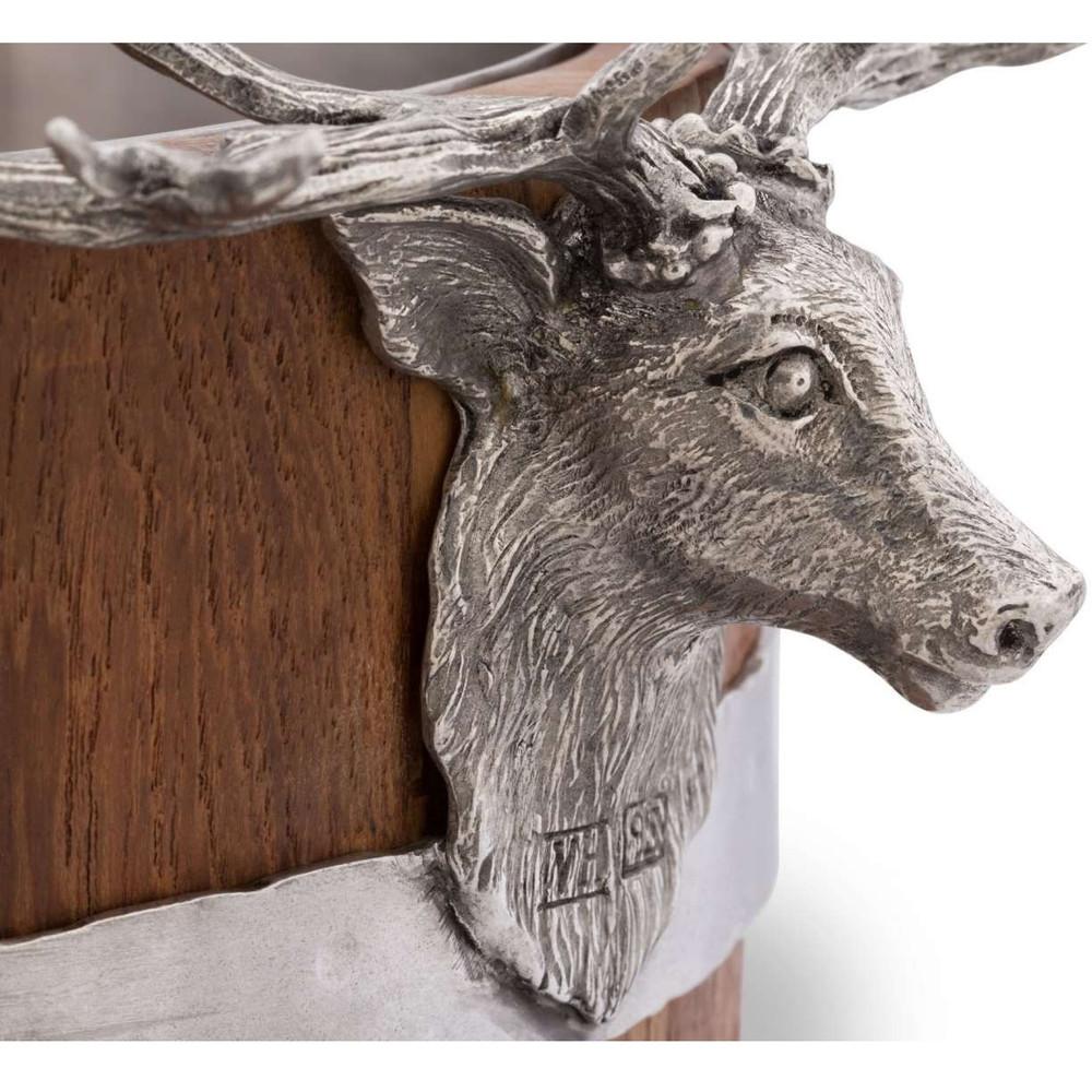 Elk Wood Pail Ice Bucket | Vagabond House | B226EK -3
