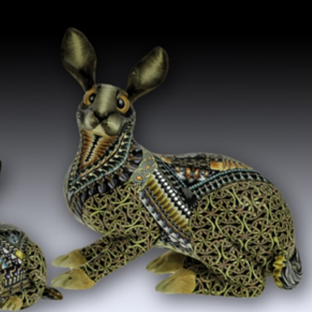 Rabbit Mama Figurine New | FimoCreations | FBRM -2