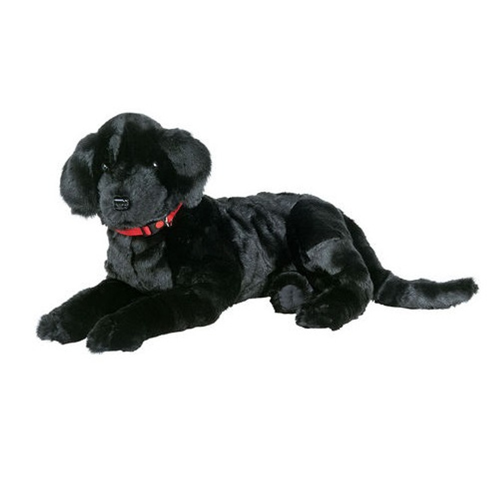Black Lab Plush Lap Dog | Ditz Designs | DIT40495