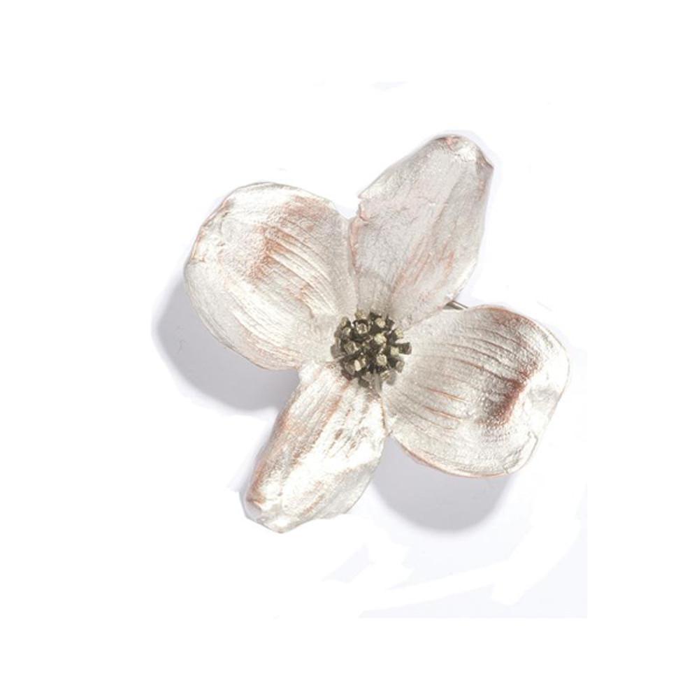 Dogwood Pin   Michael Michaud Jewelry   5759BZ