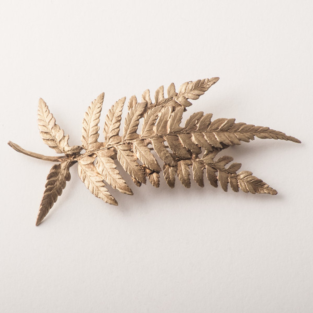 Fern Pin | Michael Michaud Jewelry | 5955BZ