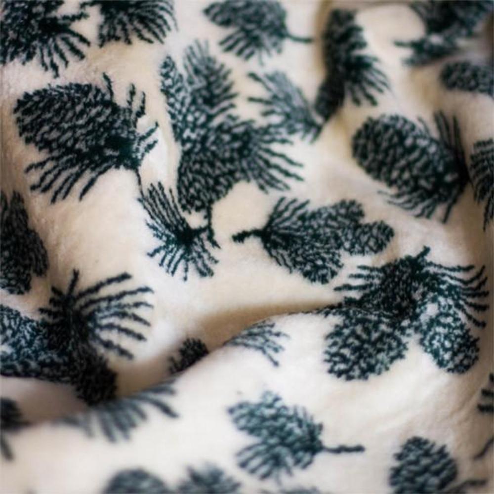 Pine Cone Winter Micro Plush Throw Blanket | Denali | 16113972 -4