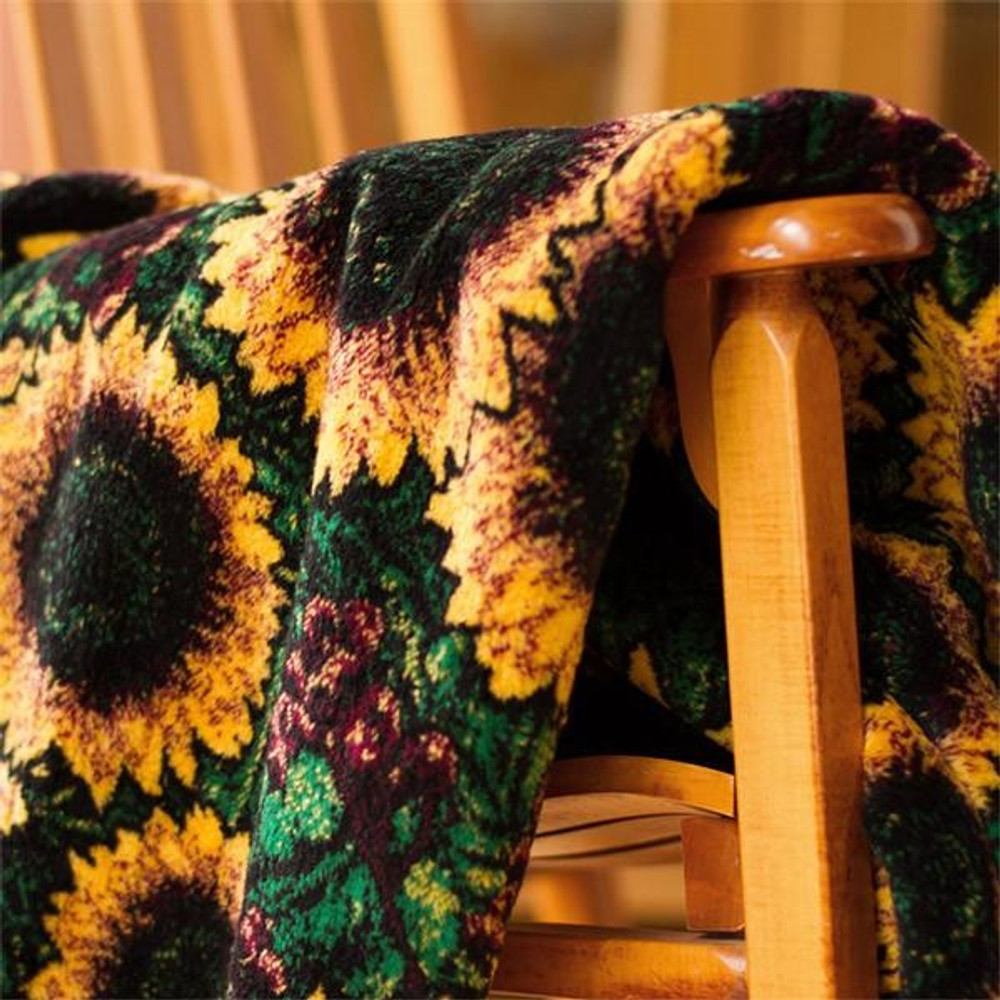 Sunflower Micro Plush Throw Blanket | Denali | 16180772 -3