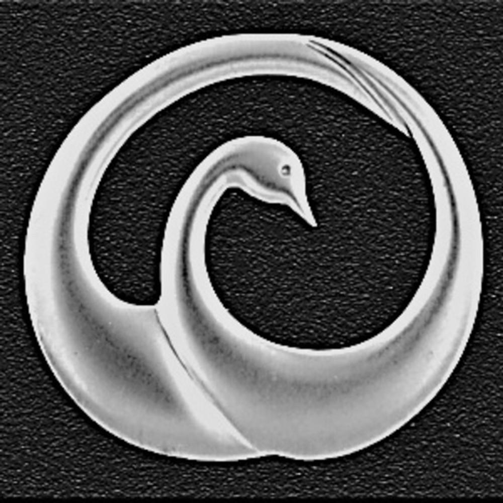 Swan Pewter Pin