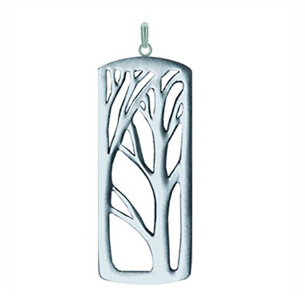 Deep Forest Large Pewter Pendant-2