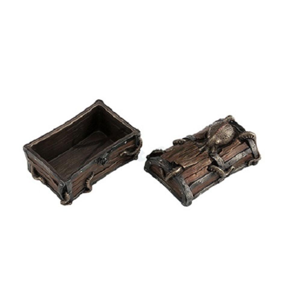 Octopus Cracked Treasure Chest Trinket Box | Unicorn Studios | WU76943A4 -2