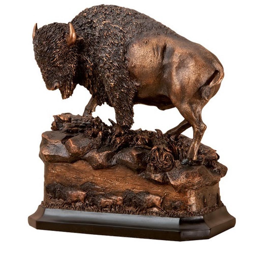 Buffalo Sculpture | Big Sky Carvers | BSCB5220022