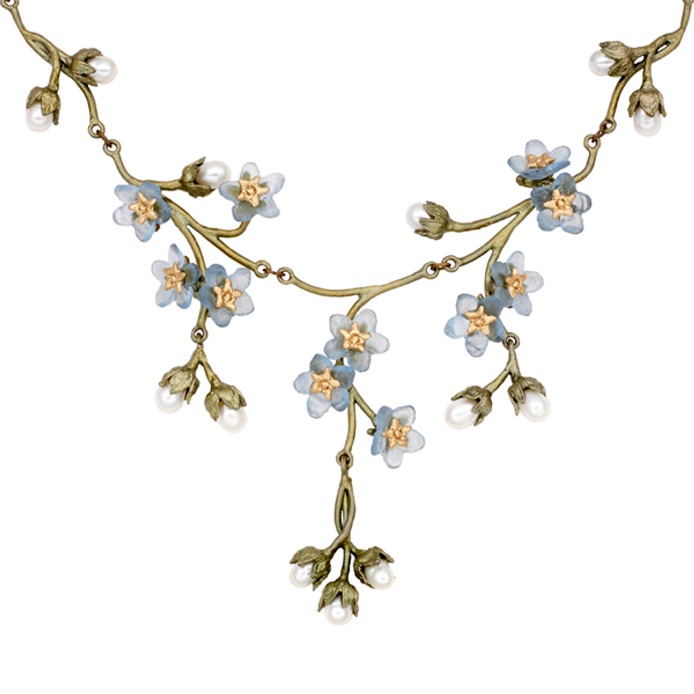 """Forget Me Not 18"""" Adjustable Contour Necklace 