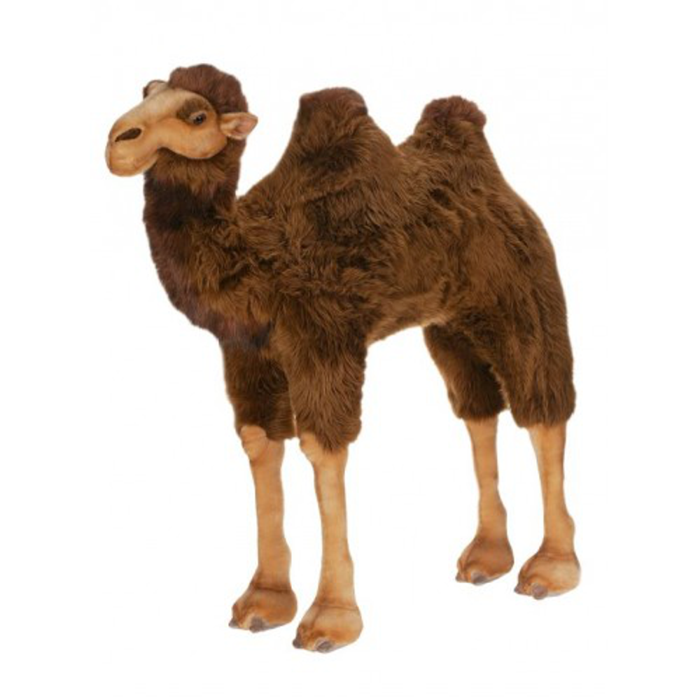 Camel Ride-On Giant Stuffed Animal | Plush Camel Statue | Hansa Toys | HTU2062