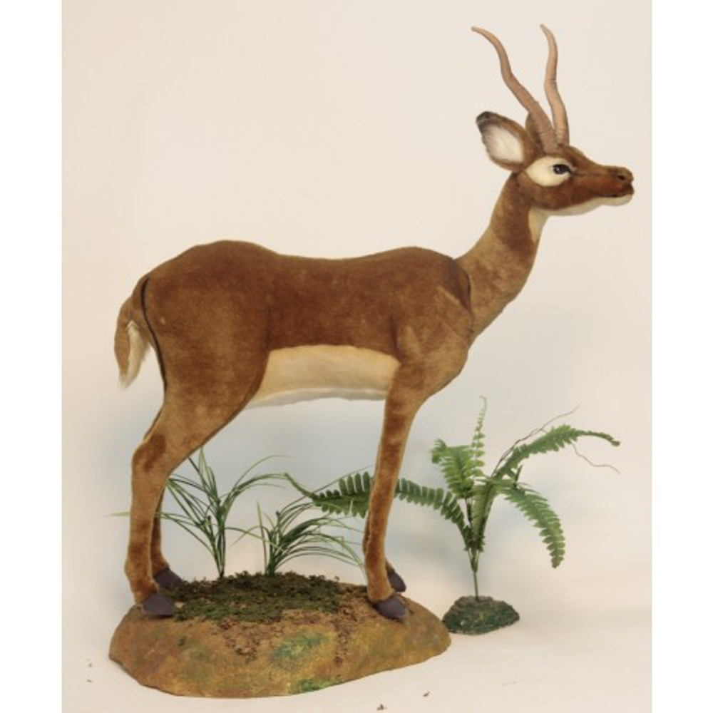 Impala Large Stuffed Animal | Plush Impala Statue | Hansa Toys | HTU4489