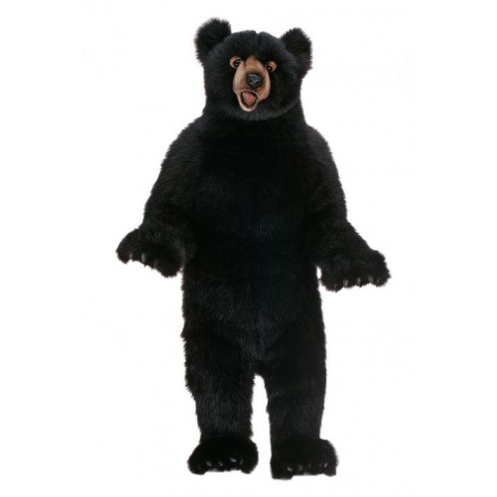 Black Bear Fritz Large Stuffed Animal | Hansa Toys | HTU5006
