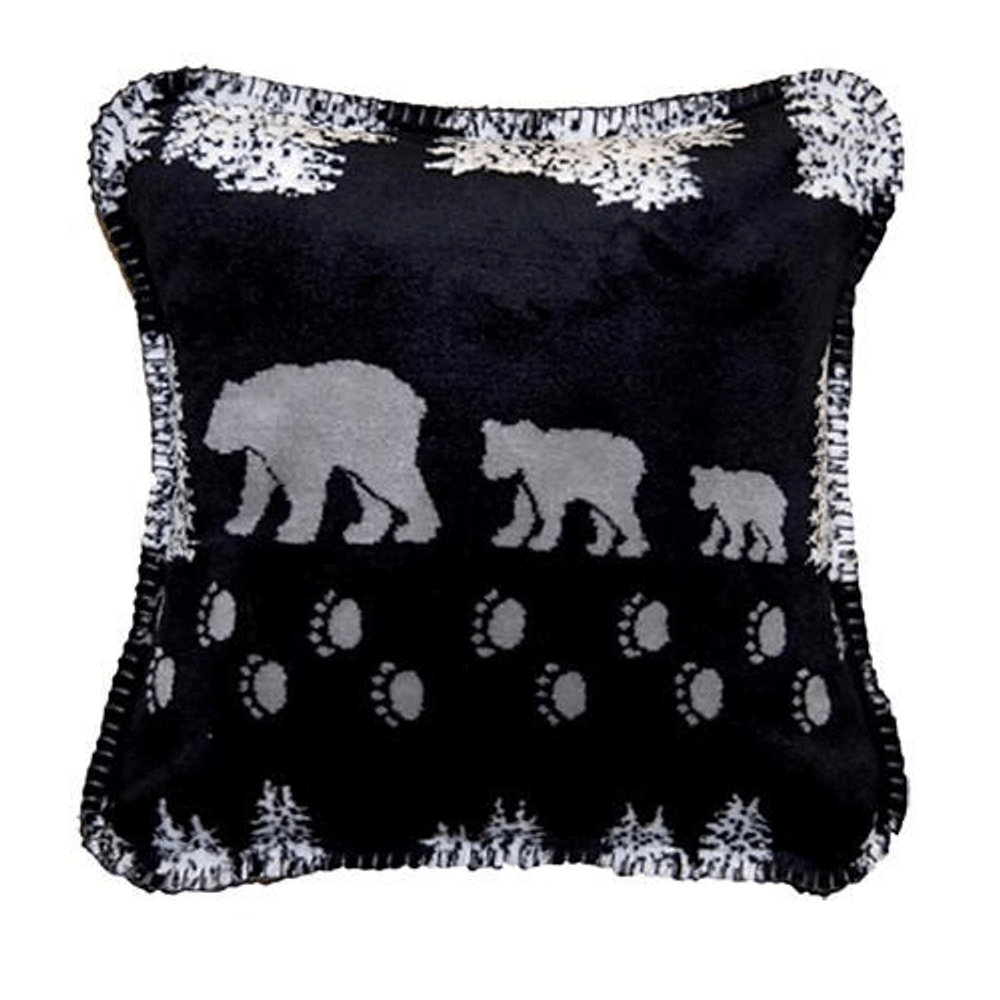 Black Bear Throw Pillow | Denali | DHC35001818