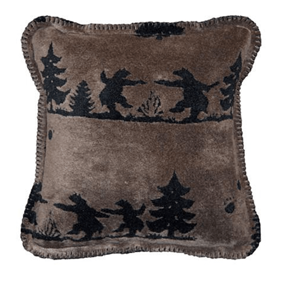 Bear Boogie Throw Pillow | Denali | DHC35091618