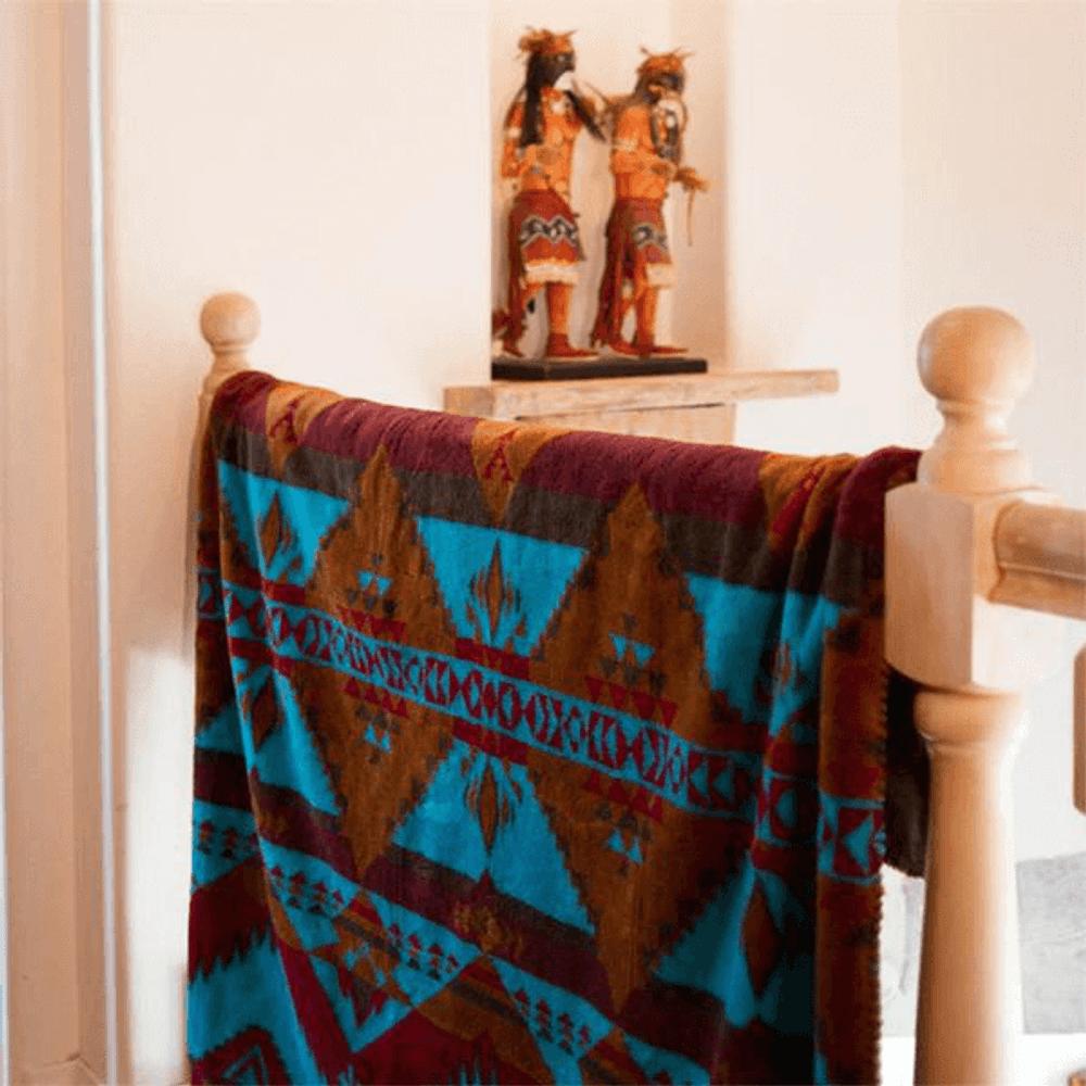 Native Journey Micro Plush Throw Blanket   Denali   DHC16171872 -3