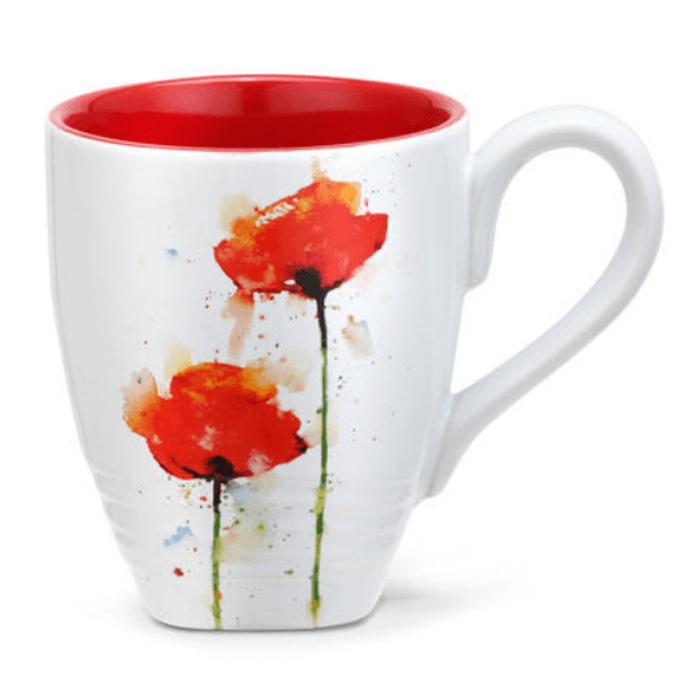 Poppy Stoneware Mug | Big Sky Carvers | 3005050983