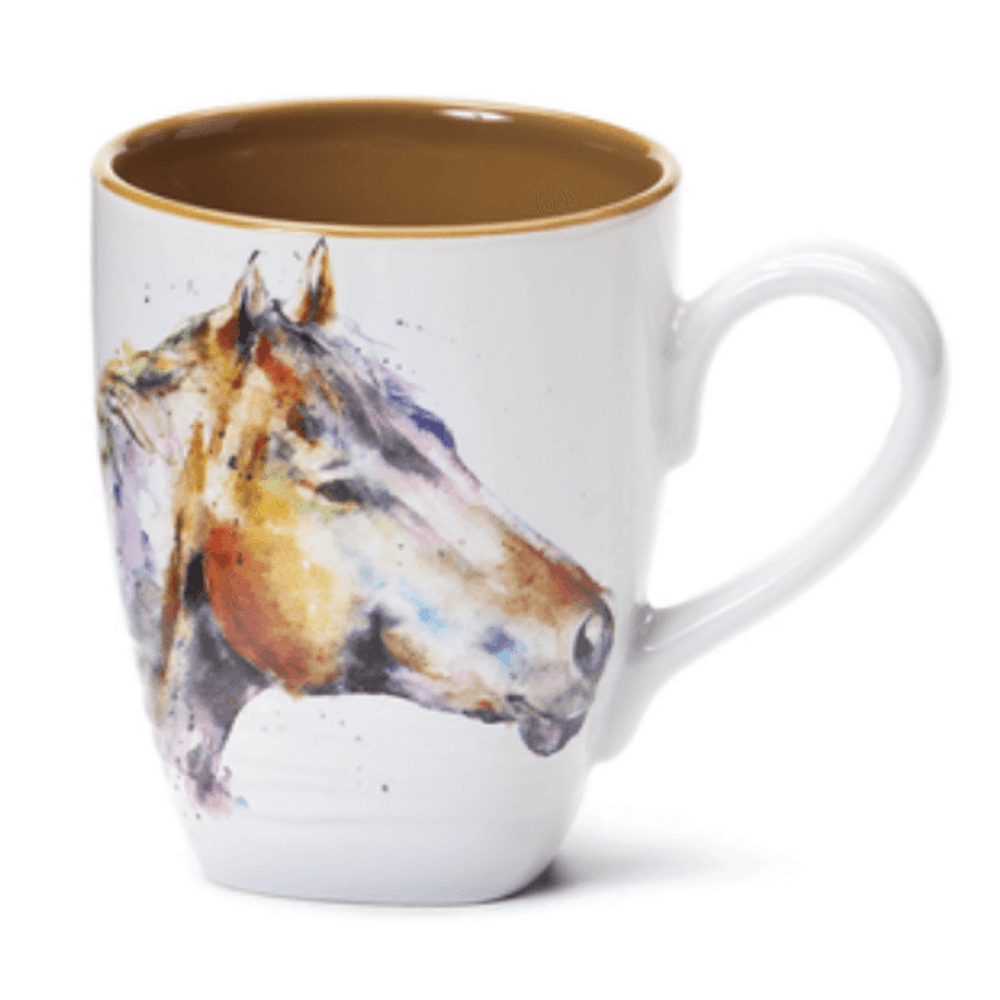 Horse Stoneware Mug | Big Sky Carvers Horse Mug | Dean Crouser
