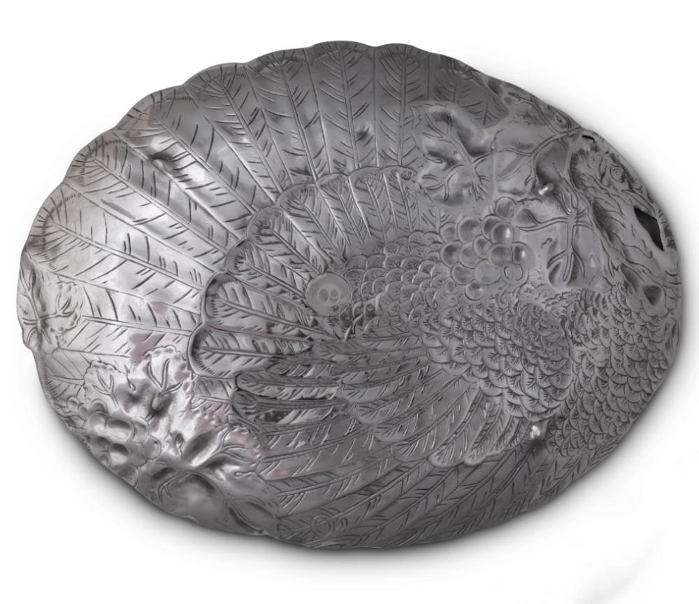 Turkey Holidays Oval Platter | Arthur Court Designs | 102324