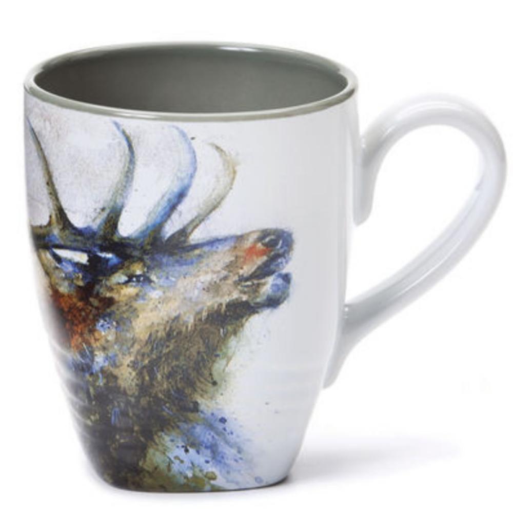 Elk Stoneware Mug | Big Sky Carvers | 3005050297