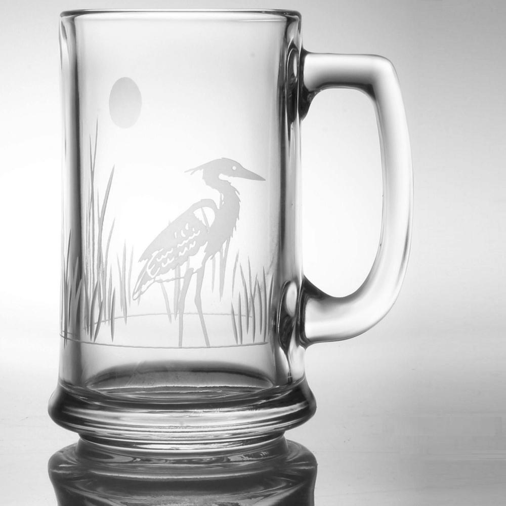 Heron Glass Beer Mug Set of 4 | Rolf Glass | 219080