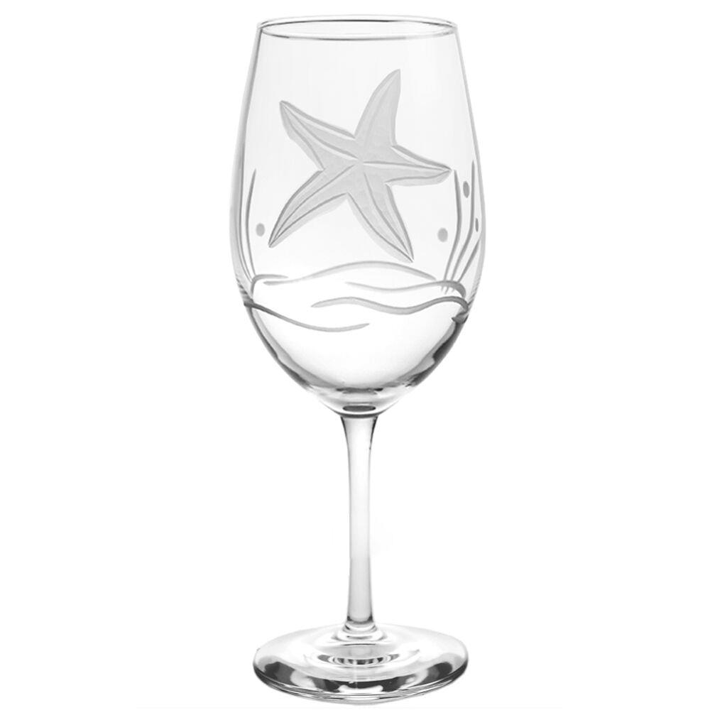 Starfish AP Large Wine Glass Set of 4 | Rolf Glass | 400266