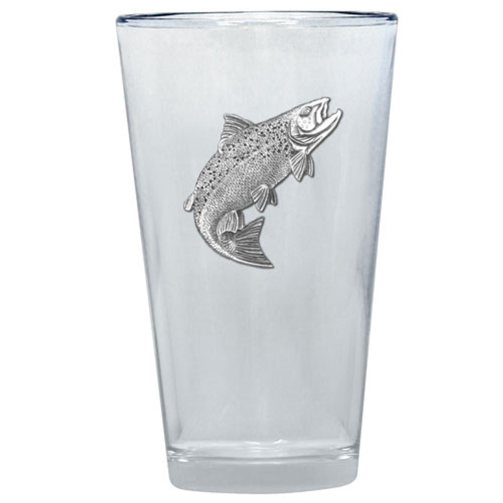 Salmon Pint Glass Set of 2 | Heritage Pewter | PNT3690