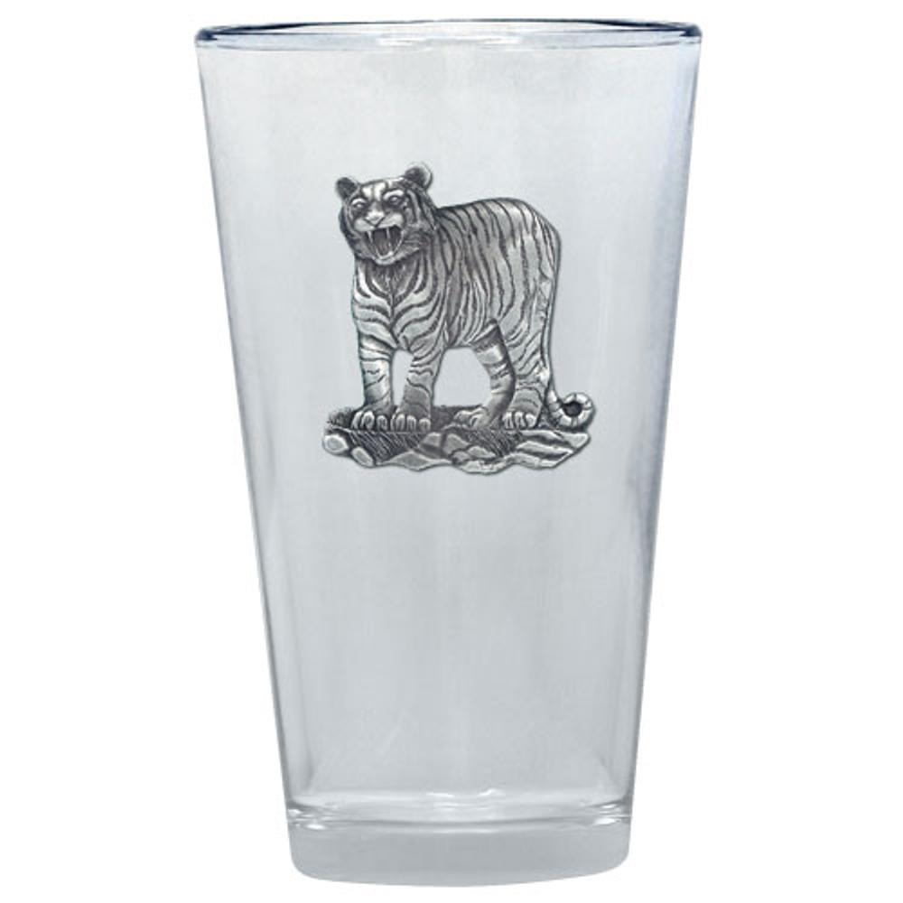 Tiger Pint Glass Set of 2 | Heritage Pewter | PNT3986