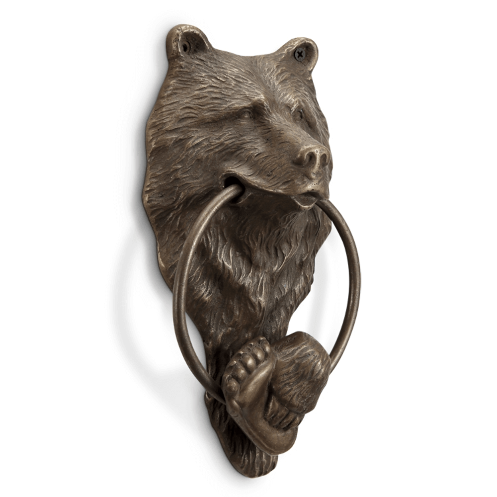 Bear Head Door Knocker | SPI Home | 34756 -2