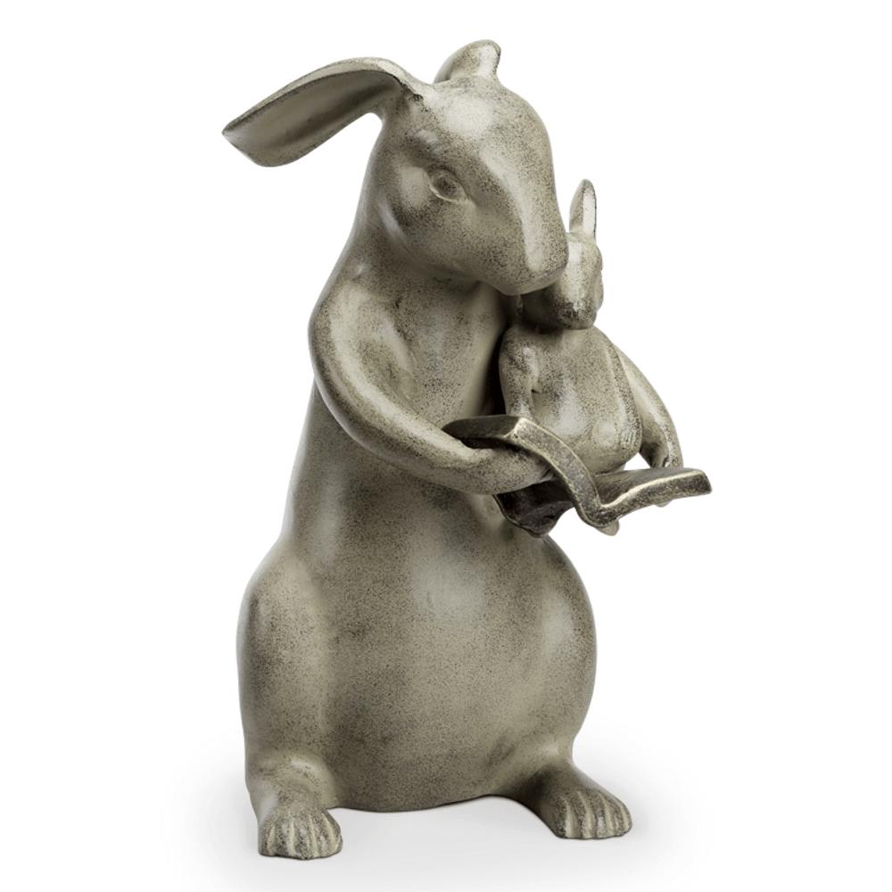 Rabbit Garden Sculpture | Sharing a Story | SPI Home | 34773 -2