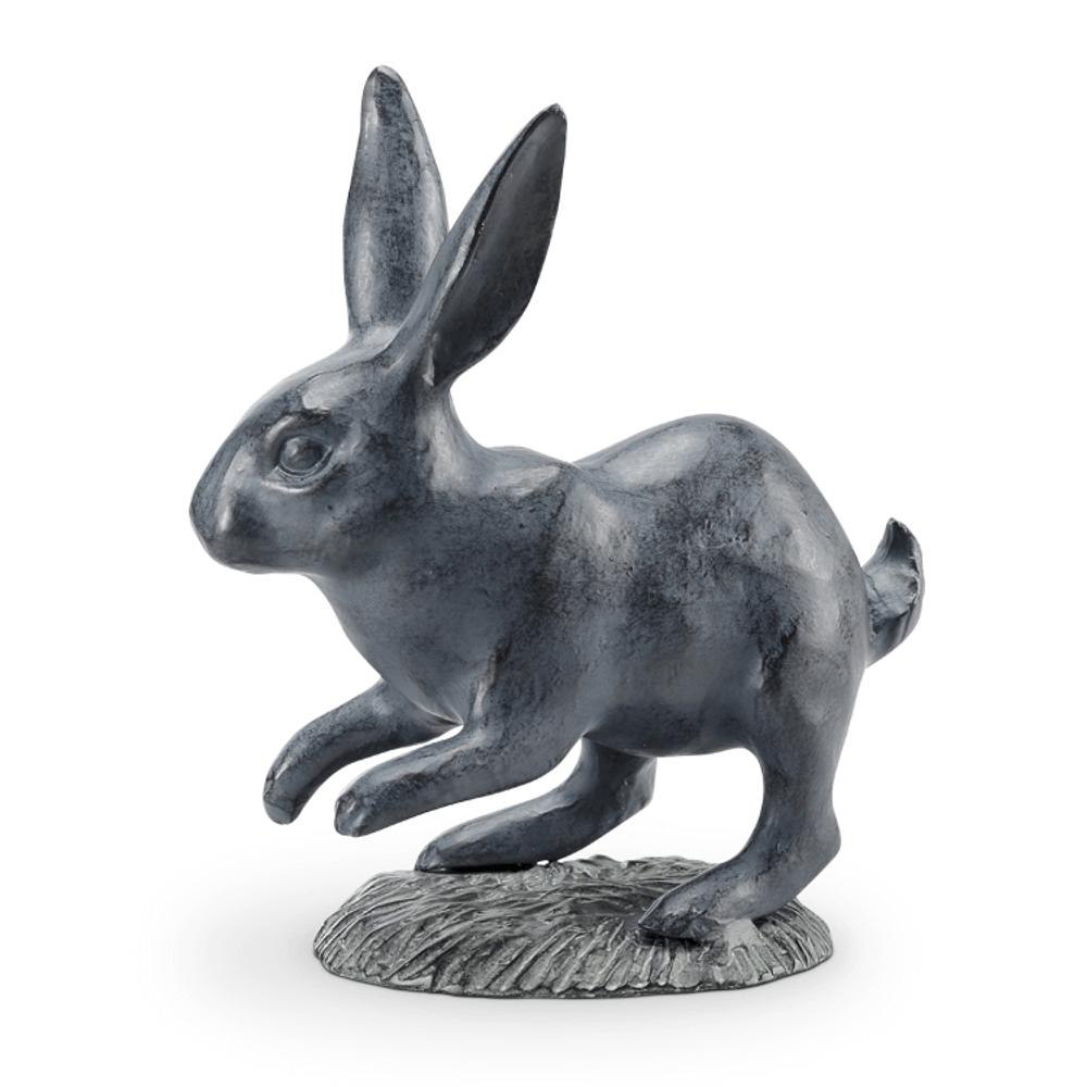 Rabbit Skipping Garden Sculpture   SPI Home   34767 -2
