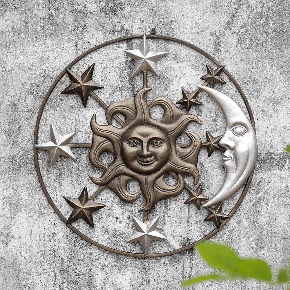 Sun Moon and Stars Wall Art   SPI Home   34754