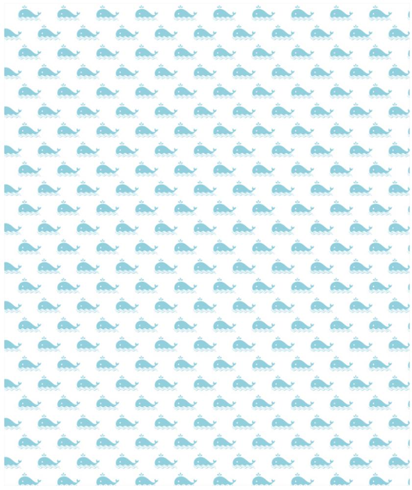 "Whale Fleece Throw Blanket ""Marathon"" | Island Girl Home | THR92 -2"