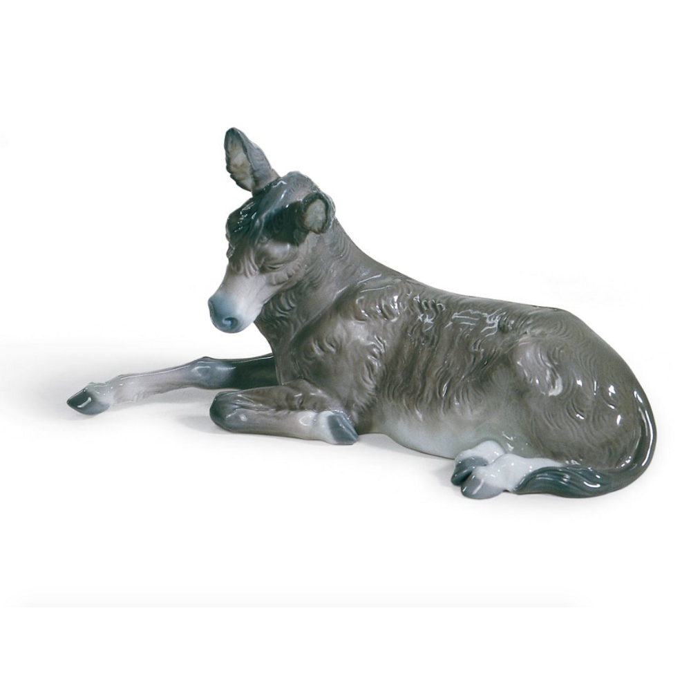 Donkey Nativity Porcelain Figurine | Lladro | 01001389