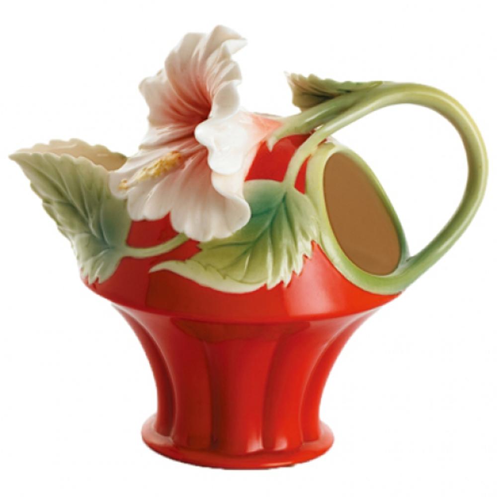 Island Beauty Hibiscus Creamer | FZ00979 | Franz Collection