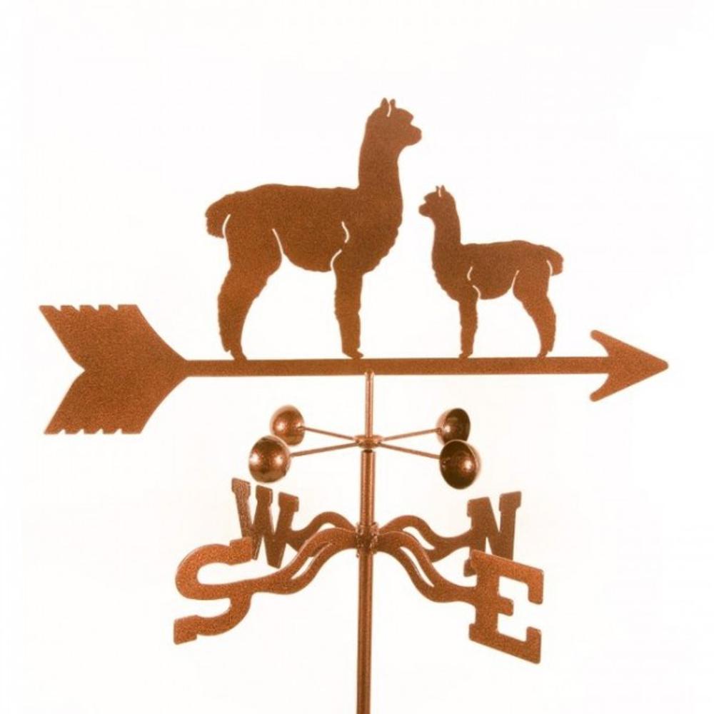 Alpaca and Baby Weathervane | EZ Vane | ezvalpacababy