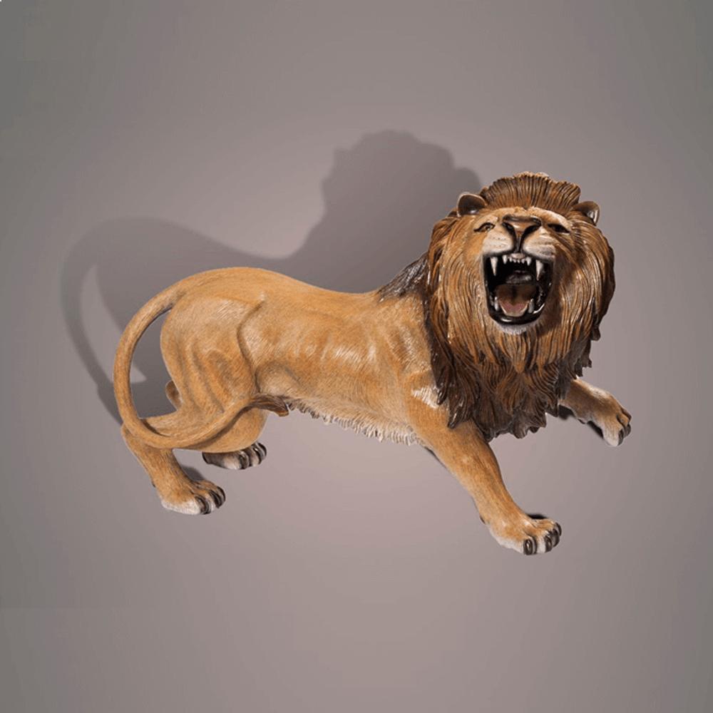 Lion Bronze Sculpture | Barry Stein | BBSTHELION
