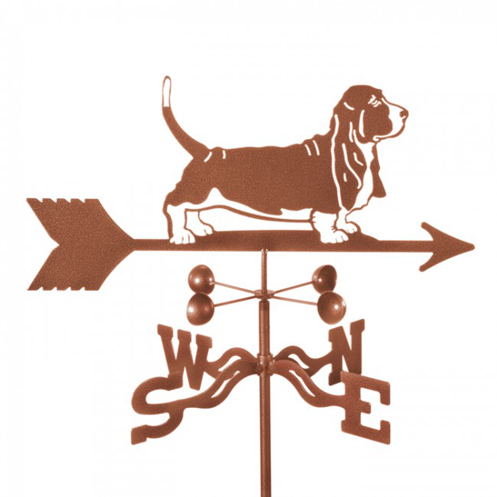 Basset Hound Dog Weathervane | EZ Vane | ezvbassethound