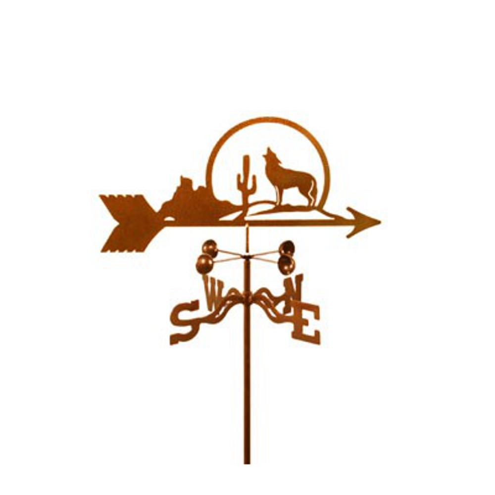 Coyote and Cactus Weathervane | EZ Vane | ezvCoyoteCactus