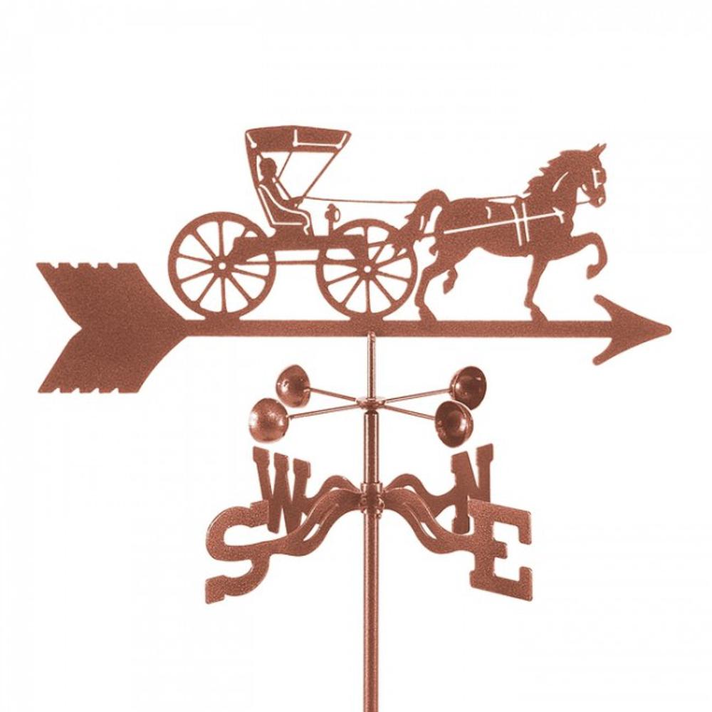Doctor's Horse and Buggy Weathervane | EZ Vane | ezvdochorsebuggy