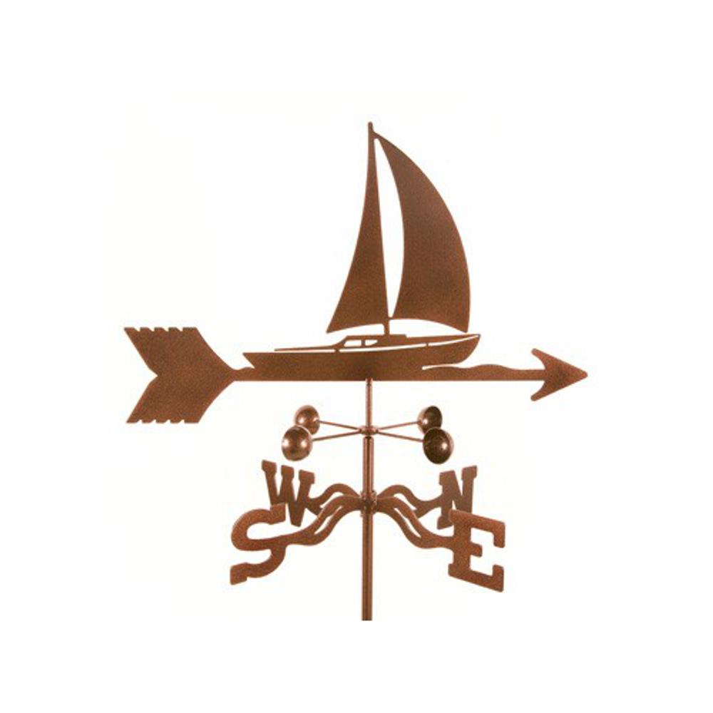 Sailboat Weathervane   EZ Vane   ezvsailboat