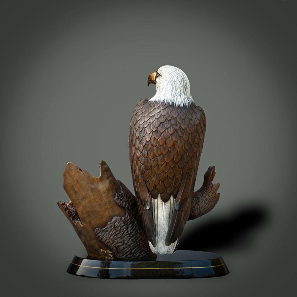 "Eagle Bronze Sculpture ""Pride of America"" | Barry Stein | BBSPRIDEOFAMERICA-3"