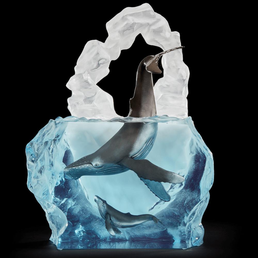 "Whale Sculpture ""Kindred Souls"" | Starlite Originals | 3670LE"