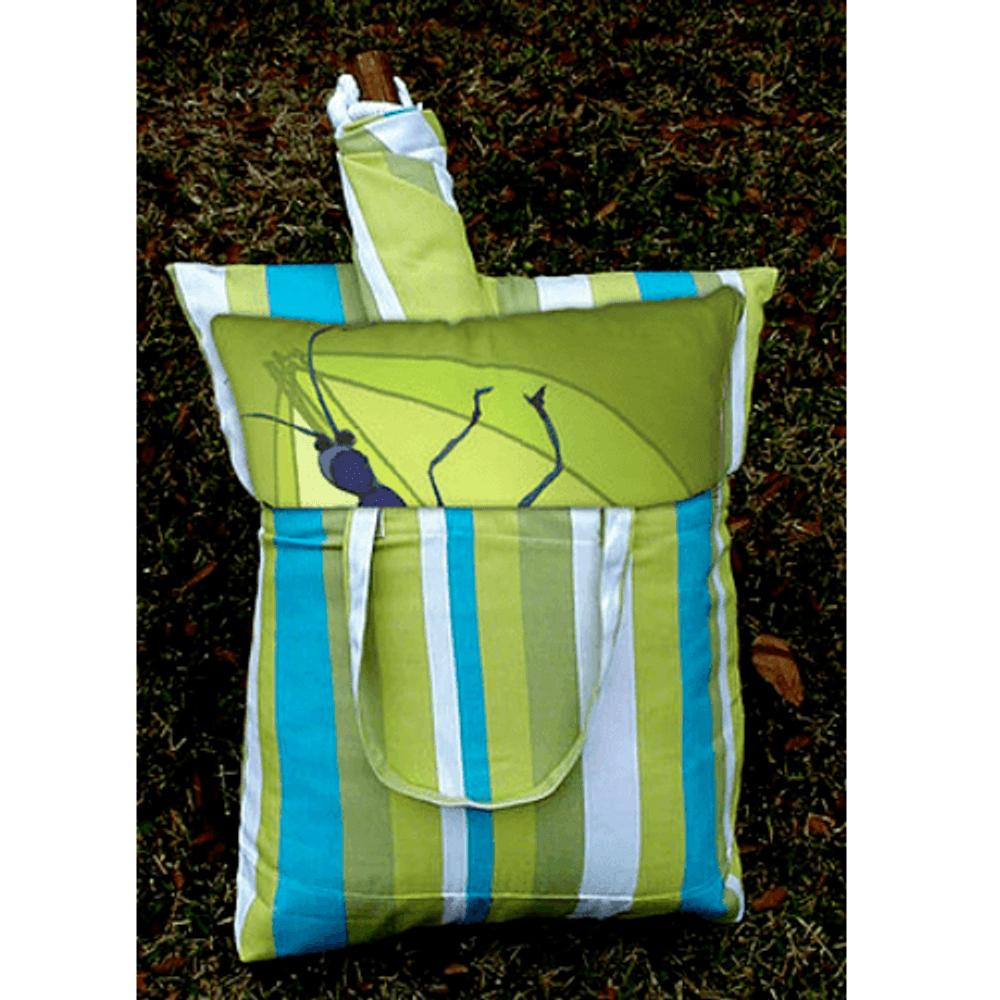 "White Flower Hammock Chair Swing ""Beach Boulevard"" | Magnolia Casual |BBFBFL-SP-2"