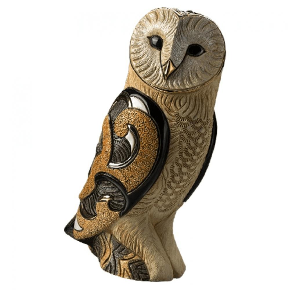 Barn Owl Ceramic Figurine   De Rosa   Rinconada   463 -2