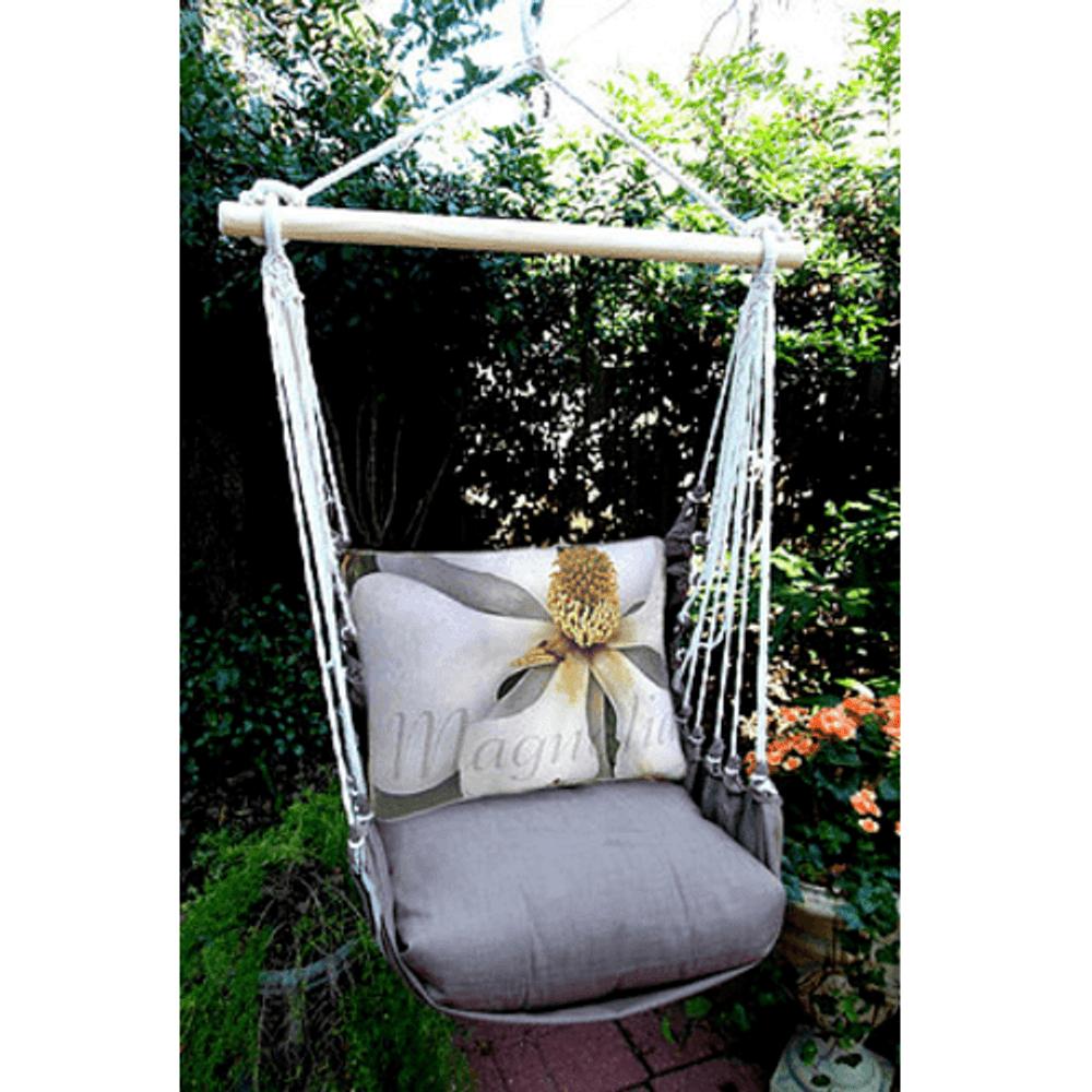"Magnolia Hammock Chair Swing ""Chocolate"" | Magnolia Casual | CHSJ504-SP"
