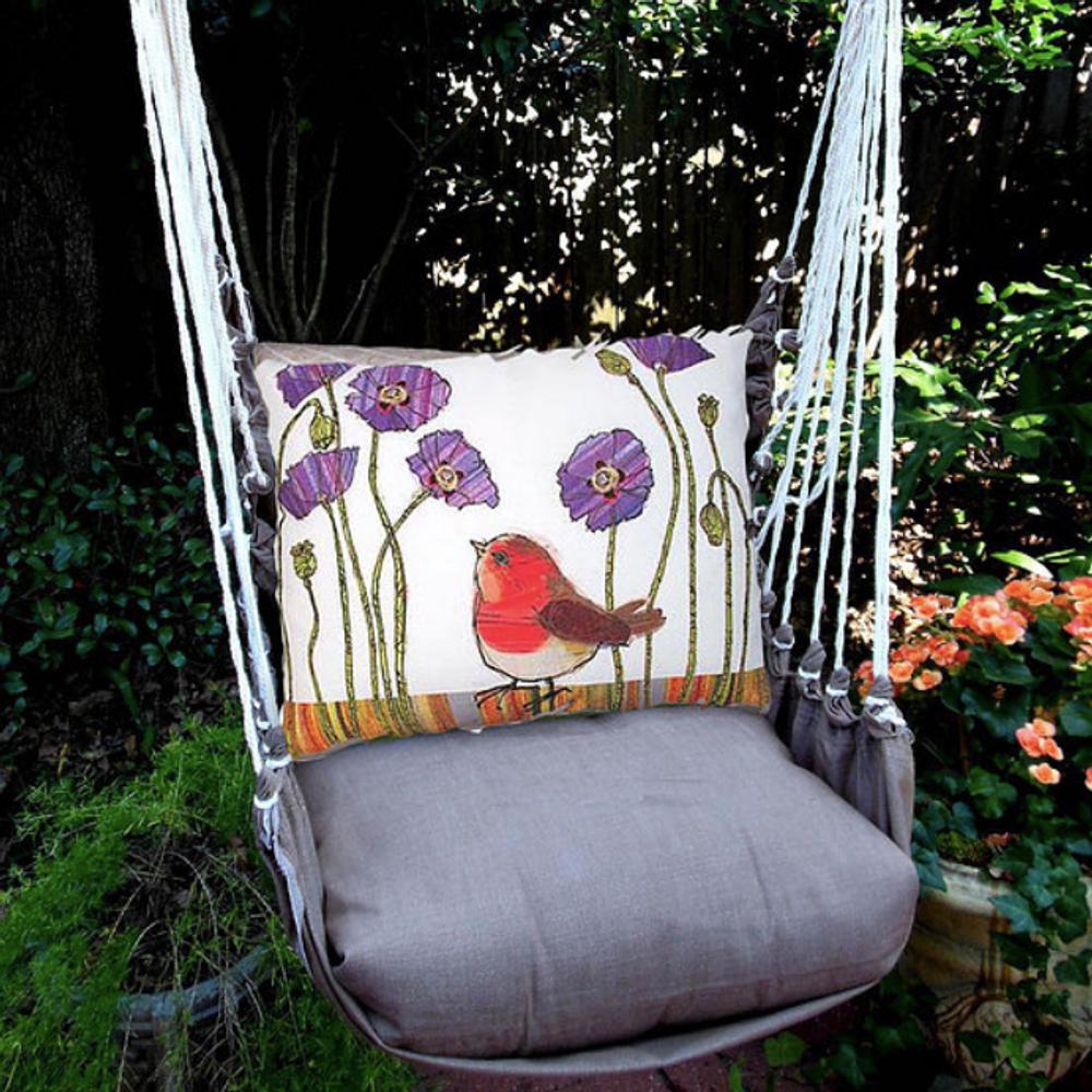 Red Robin Hammock Chair Swing Chocolate Magnolia Casual